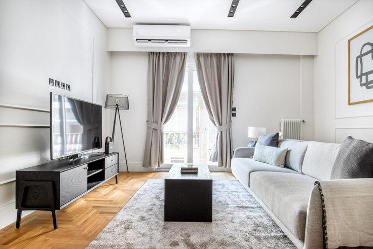2 bedroom furnished apartment in Korinthias 1051, Ampelokipoi, Athens, photo 1
