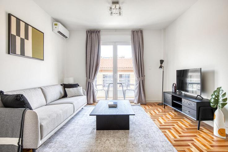 2 bedroom furnished apartment in Pratinou I 1052, Pangrati, Athens, photo 1