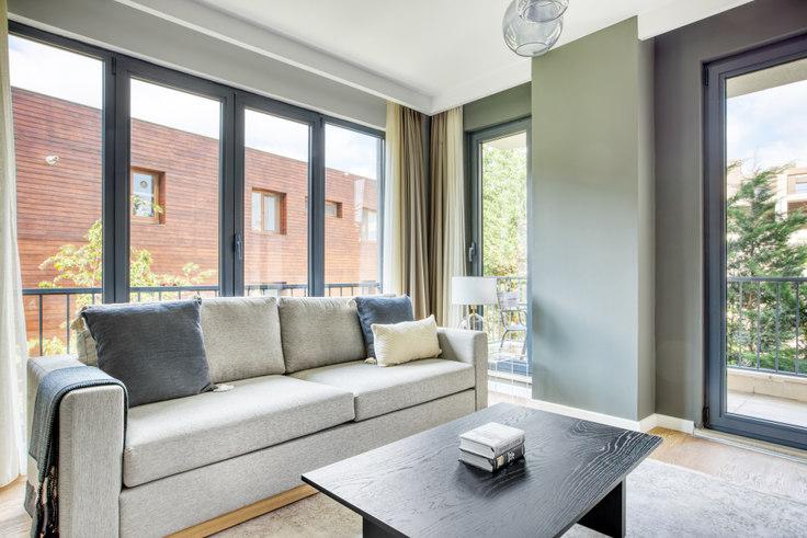 1 bedroom furnished apartment in Pine Homes - 687 687, Göktürk, Istanbul, photo 1