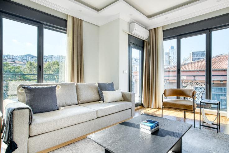 2 bedroom furnished apartment in Aydınlık  Apartmanı - 689 689, Beşiktaş, Istanbul, photo 1