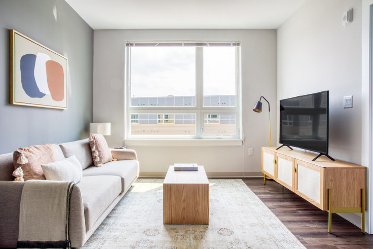 1 bedroom furnished apartment in The Overlook at St. Gabriel's, 175 Washington St 431, Brighton, Boston, photo 1