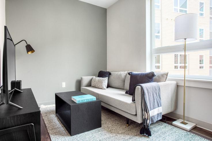 Studio furnished apartment in The Overlook at St. Gabriel's, 175 Washington St 432, Brighton, Boston, photo 1