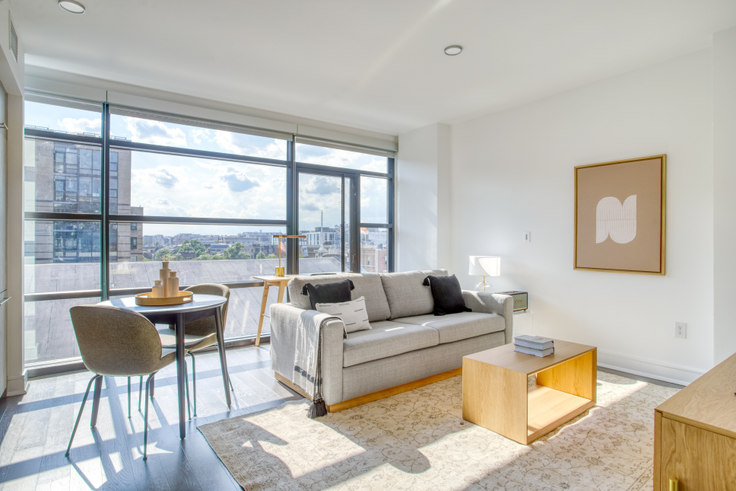 1 bedroom furnished apartment in The Shaw, 618 T St NW 284, Shaw, Washington D.C., photo 1