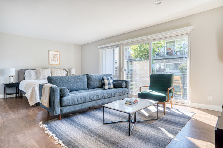 Studio furnished apartment in Lagoons 1, 655 Bounty Dr 592, Foster City, San Francisco Bay Area, photo 1