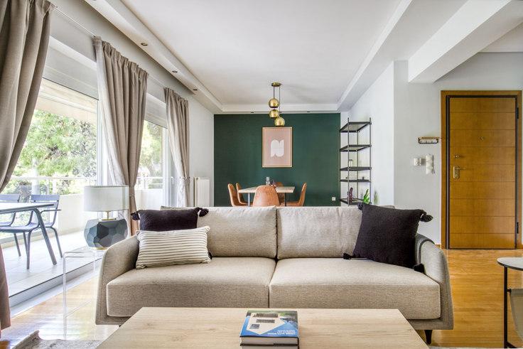 2 bedroom furnished apartment in Afroditis I 1058, Palaio Faliro, Athens, photo 1