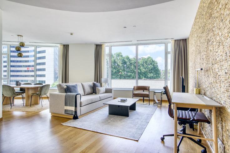 1 bedroom furnished apartment in Şişli Plaza - 692 692, Sisli, Istanbul, photo 1