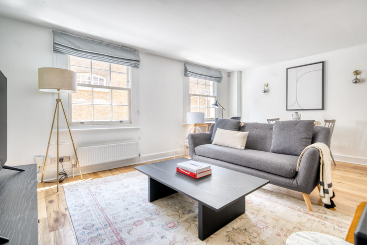1 bedroom furnished apartment in Short's Gardens 75, Covent Garden, London, photo 1