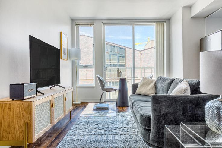 Studio furnished apartment in Arras Bellevue Building 2, 12258 NE 12th Ln 153, Bellevue, Seattle, photo 1