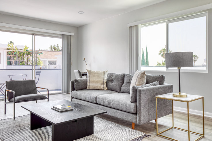 1 bedroom furnished apartment in 1635 N Martel Ave 500, Hollywood, Los Angeles, photo 1