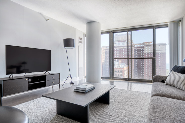 2 bedroom furnished apartment in 777 South State, 2 E 8th St 424, South Loop, Chicago, photo 1