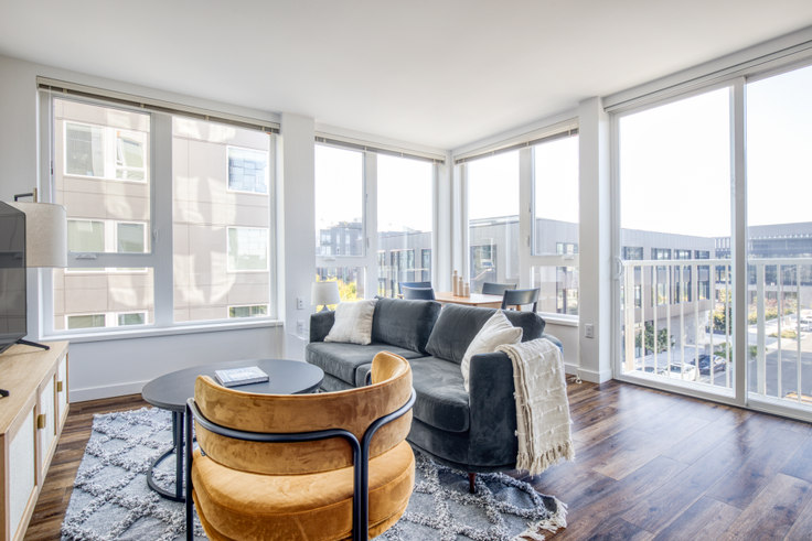 1 bedroom furnished apartment in Arras - Bellevue, 12288 NE 12th Ln 154, Bellevue, Seattle, photo 1