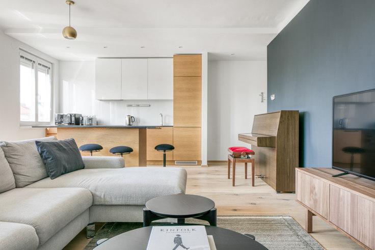 1 bedroom furnished apartment in Franzensbrückenstraße 17 36, 2nd district - Leopoldstadt, Vienna, photo 1