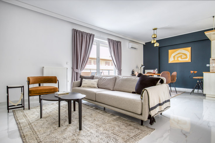 2 bedroom furnished apartment in Konstantinoupoleos I 1061, Glyfada, Athens, photo 1