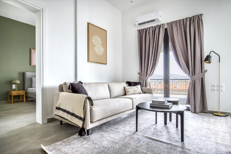 2 bedroom furnished apartment in Patriarchou Grigoriou Ι 1064, Marousi, Athens, photo 1
