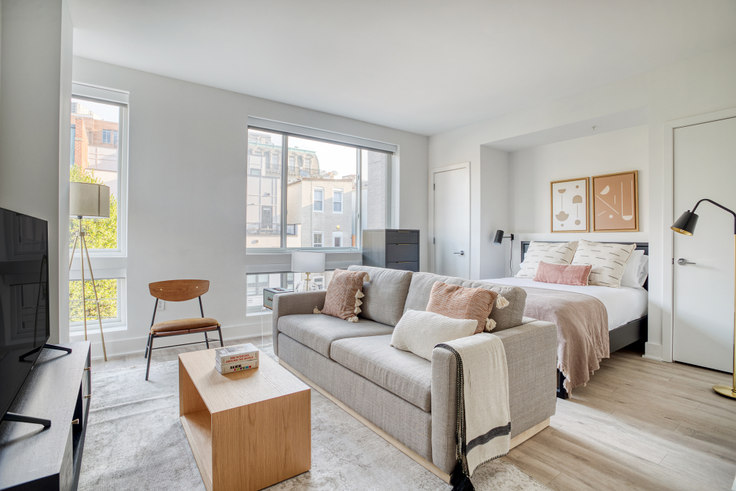 Studio furnished apartment in Madison House, 1772 Church St NW 287, Dupont Circle, Washington D.C., photo 1