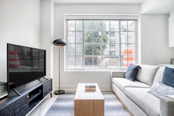 Studio furnished apartment in Madison House, 1772 Church St NW 290, Dupont Circle, Washington D.C., photo 1