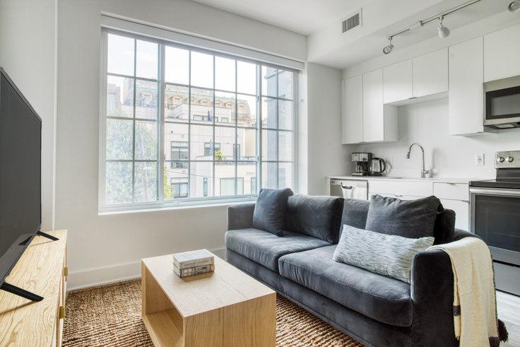 Studio furnished apartment in Madison House, 1772 Church St NW 292, Dupont Circle, Washington D.C., photo 1