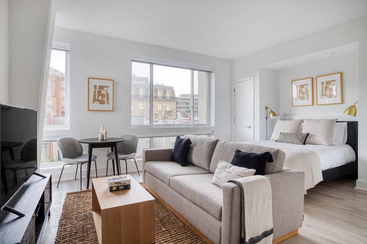 Studio furnished apartment in Madison House, 1772 Church St NW 293, Dupont Circle, Washington D.C., photo 1