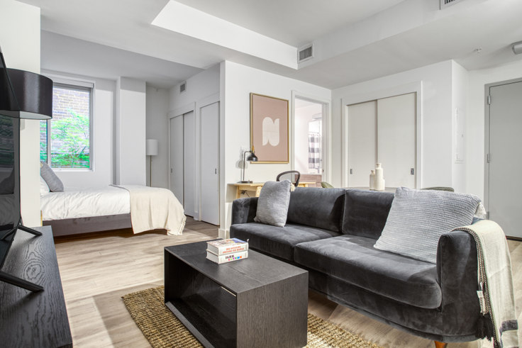 Studio furnished apartment in Madison House, 1772 Church St NW 294, Dupont Circle, Washington D.C., photo 1