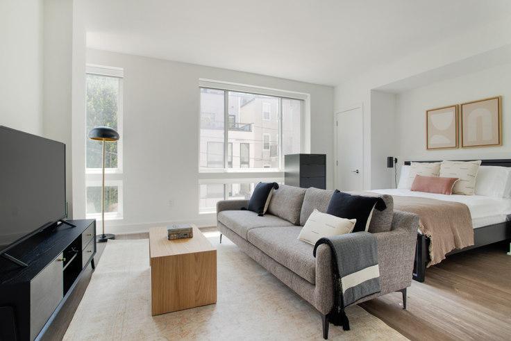 Studio furnished apartment in Madison House, 1772 Church St NW 297, Dupont Circle, Washington D.C., photo 1
