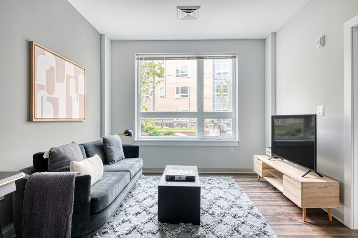1 bedroom furnished apartment in The Overlook at St. Gabriel's, 175 Washington St 434, Brighton, Boston, photo 1