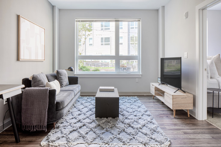 1 bedroom furnished apartment in The Overlook at St. Gabriel's, 175 Washington St 435, Brighton, Boston, photo 1