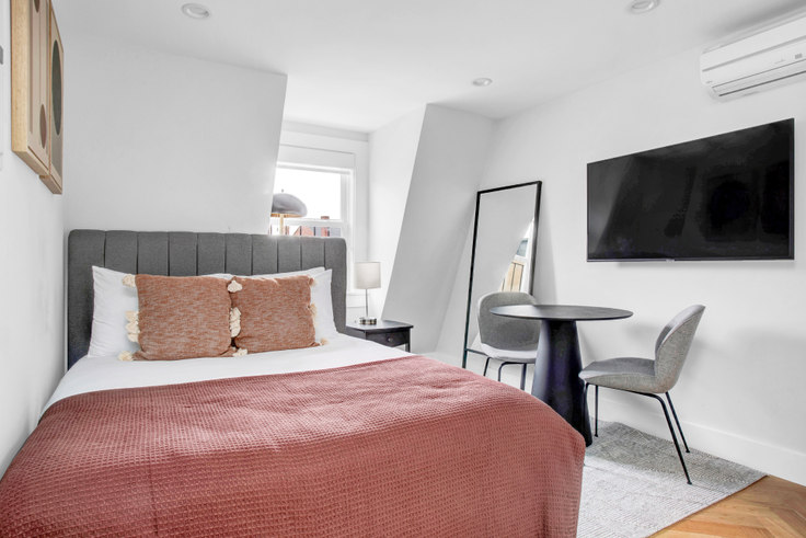 Studio furnished apartment in 461 Massachusetts Ave 440, South End, Boston, photo 1
