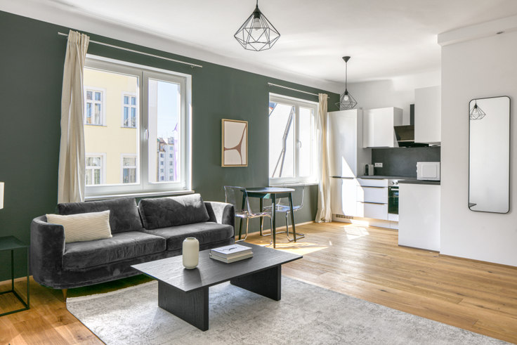 1 bedroom furnished apartment in Mollardgasse 48A 38, 6th district - Mariahilf, Vienna, photo 1