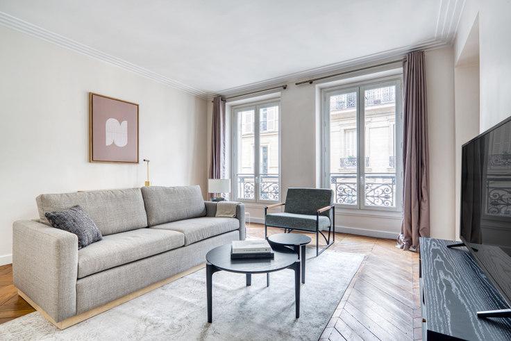 2 bedroom furnished apartment in Rue Saint-Bon 96, Le Marais - Saint-Paul, Paris, photo 1