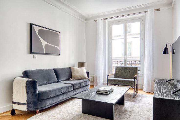 2 bedroom furnished apartment in Rue Saint-Maur 97, Republique, Paris, photo 1