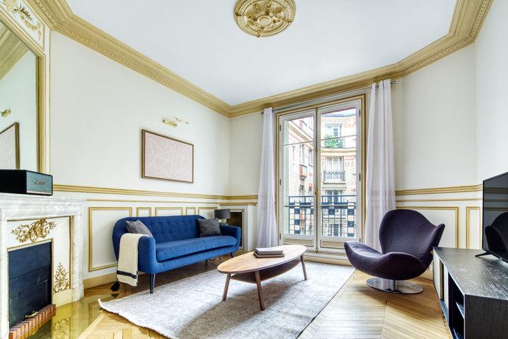 1 bedroom furnished apartment in Rue des Acacias 99, Arc de Triomphe, Paris, photo 1