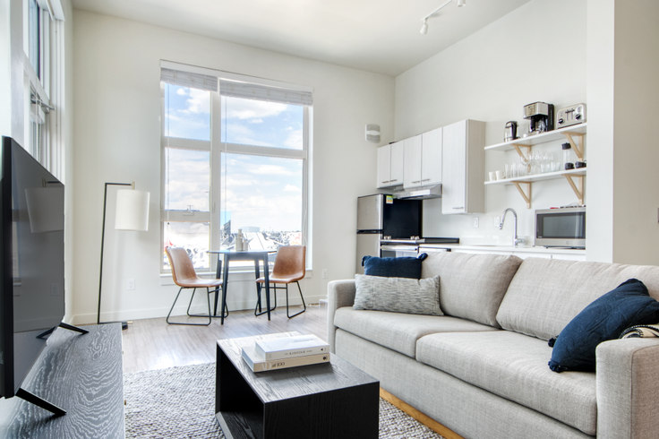 Studio furnished apartment in Ride at RiNo, 3609 Wynkoop St 35, RiNo, Denver, photo 1