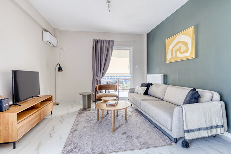 3 bedroom furnished apartment in Irodotou I 1067, Glyfada, Athens, photo 1