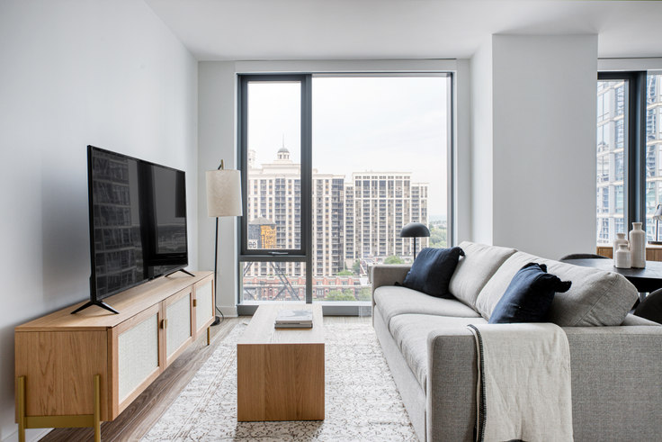 Studio furnished apartment in Paragon,  1326 S Michigan Ave 430, South Loop, Chicago, photo 1