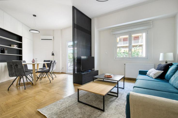 3 bedroom furnished apartment in Spirou Merkouri I 1072, Pangrati, Athens, photo 1