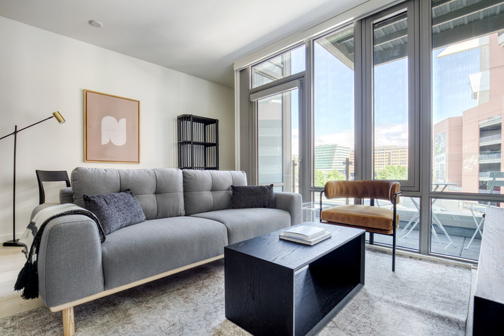 1 bedroom furnished apartment in Gridiron Condos, 590 1st Ave S 157, Pioneer Square, Seattle, photo 1
