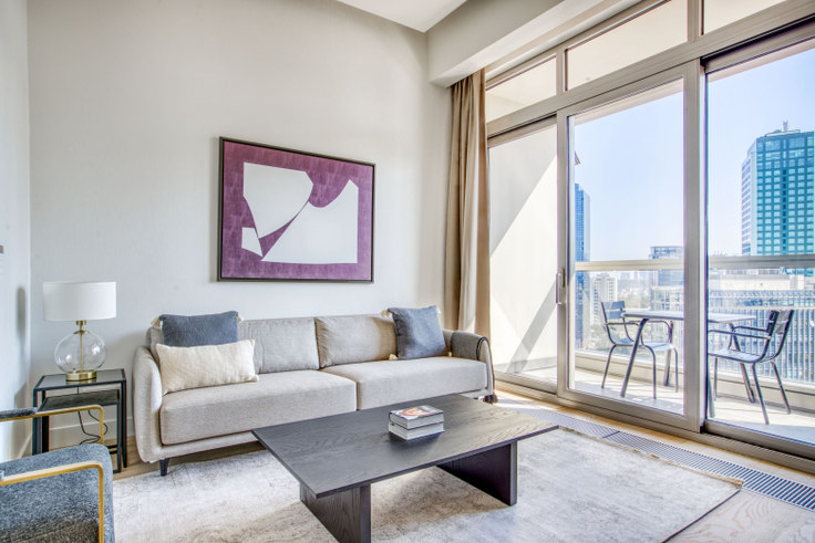 1 bedroom furnished apartment in 42 Maslak Tower A - 696 696, Maslak, Istanbul, photo 1