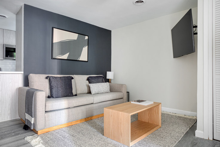 2 bedroom furnished apartment in 125 Salem Street 450, North End, Boston, photo 1