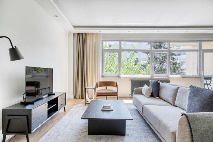 3 bedroom furnished apartment in Say Apartmanı - 700 700, Etiler, Istanbul, photo 1