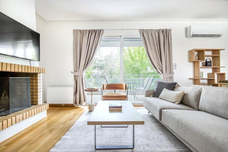2 bedroom furnished apartment in Olimpias V 1081, Marousi, Athens, photo 1