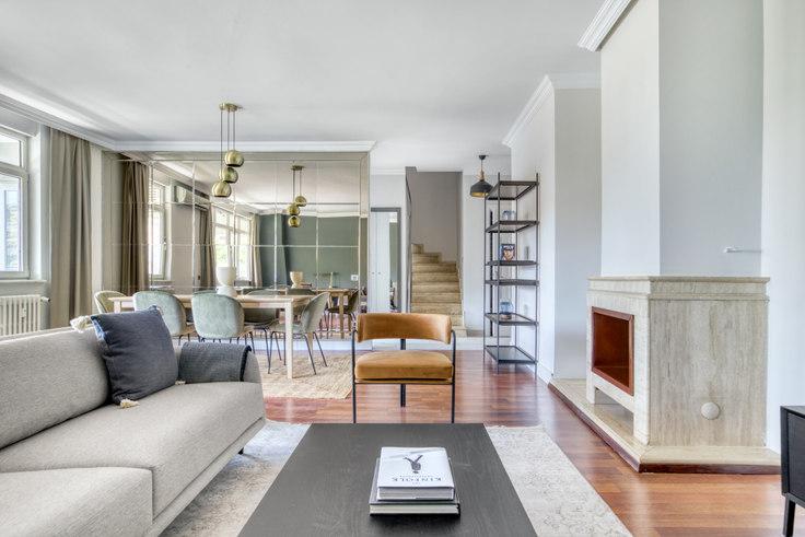3 bedroom furnished apartment in Ulus Vadi Konutları - 701 701, Ulus, Istanbul, photo 1
