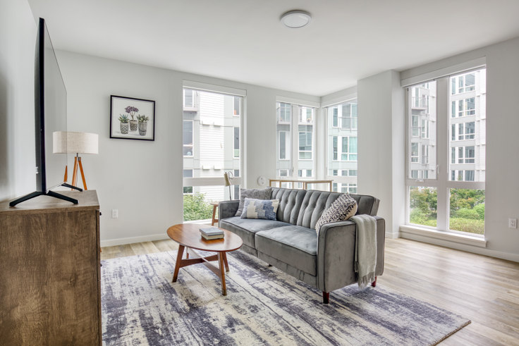 1 bedroom furnished apartment in Tellus on Dexter,  403 Dexter Ave N 173, South Lake Union, Seattle, photo 1