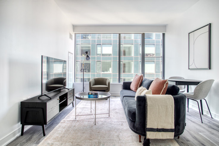 1 bedroom furnished apartment in Crossing, 949 First St SE 303, Navy Yard, Washington D.C., photo 1