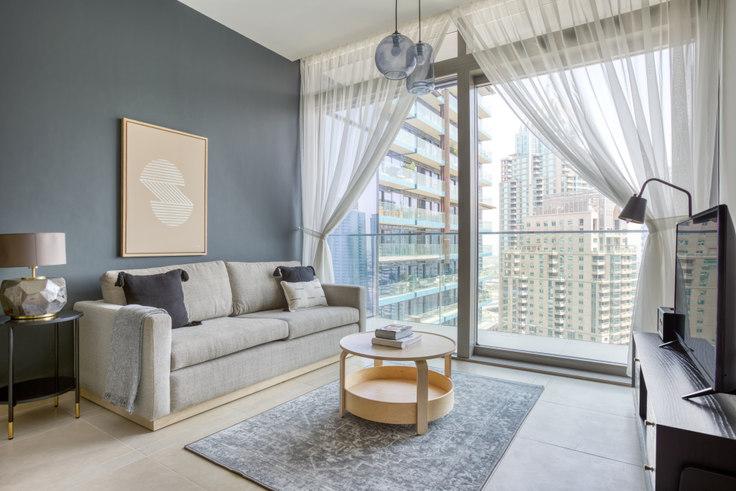 1 bedroom furnished apartment in Marina Gate VII 820, Marina Gate, Dubai, photo 1