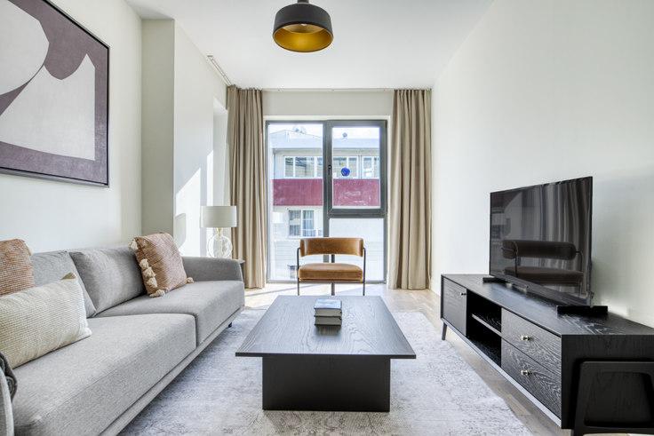 1 bedroom furnished apartment in Koray Bianco - 703 703, Göktürk, Istanbul, photo 1