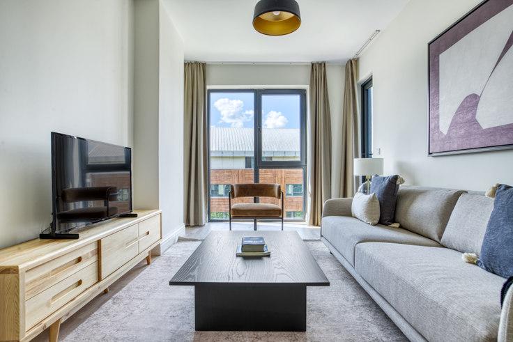 1 bedroom furnished apartment in Koray Bianco - 704 704, Göktürk, Istanbul, photo 1