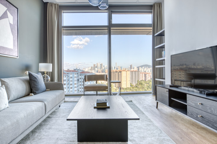 2 bedroom furnished apartment in Emaar Square - 705 705, Uskudar, Istanbul, photo 1