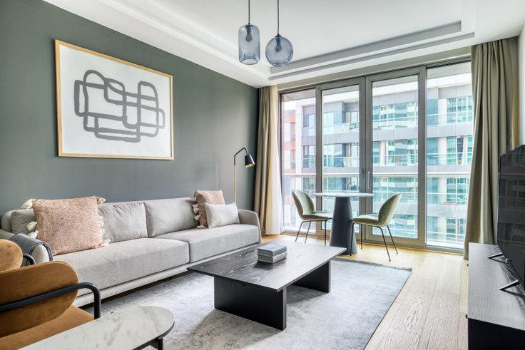 1 bedroom furnished apartment in Vadi İstanbul Teras - 707 707, Ayazağa, Istanbul, photo 1