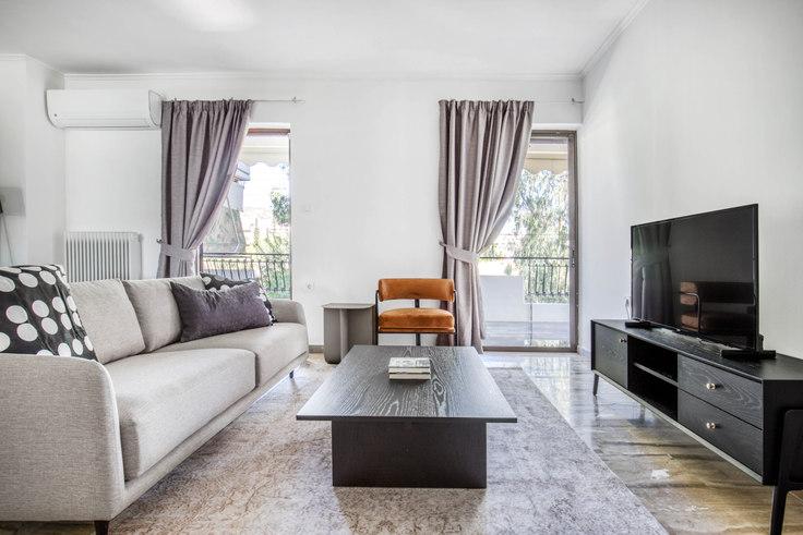 3 bedroom furnished apartment in Porou I 1085, Voula, Athens, photo 1