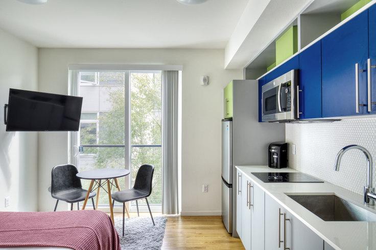 Studio furnished apartment in Ballard 57, 1731 NW 57th St 175, Ballard, Seattle, photo 1